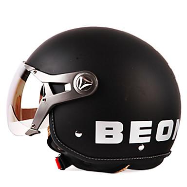 B100 2 mode mat riel vintage abs style harley courses de - Casque moto course ...