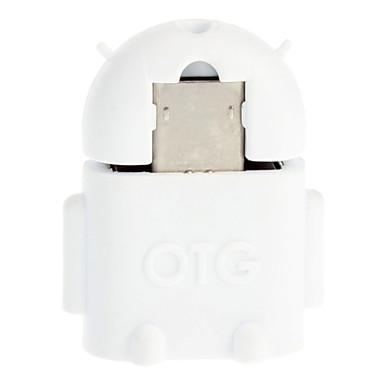 Buy Micro USB 2.0 M/F OTG Adapter White