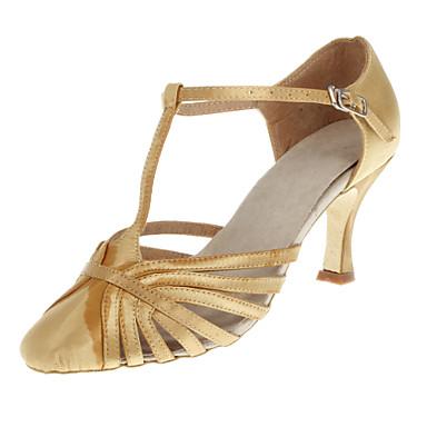 Customized Fashion Womens Satin Upper Dance Shoes Women s Customized Heel Satin