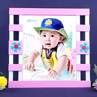 """14.25""""H Cartoon Style Picture Frame"""