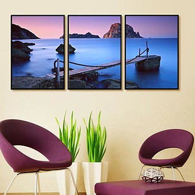 Dreamland Framed Canvas Print Set of 3