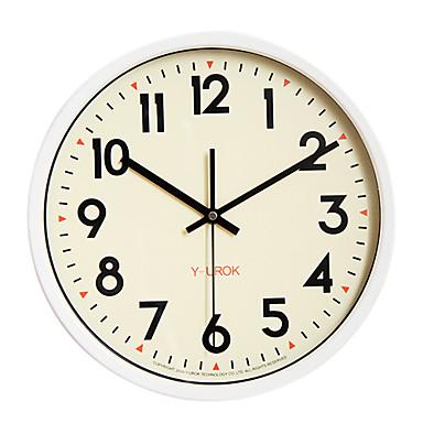 "12"" Mental Baking Finish Frame Mute Wall Clock"
