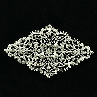 7.5cm Rhinetone Europe Imperial tyle Brooch Pin for Girl Jewelry
