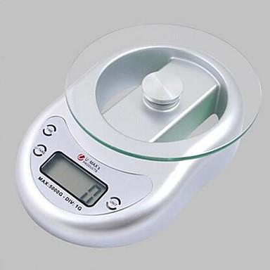 Pantalla lcd digital de balanza de cocina electr nica for Balanza cocina 0 1 g