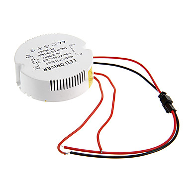 0.3A 31-36W DC 90-140V to AC 85-265V Circular External Constant Current Power...
