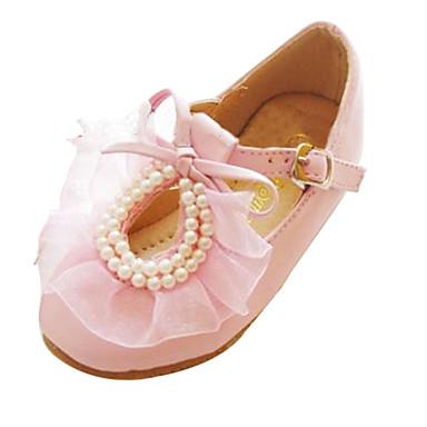 Meisje ronde teen gesloten teen platte schoenen roze wit 1855602 2017 - Kleine teen indelingen meisje ...