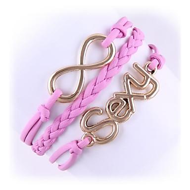 (1 Pc)Sweet 5.4cm Women's Sexy Alloy Chain & Link Bracelet
