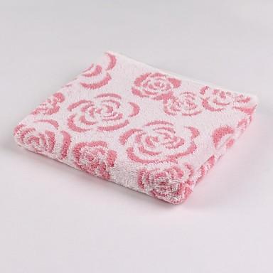 Thouse rose jacquard wassen handdoek 100 cottonl 34cm 75cm 1946899 2016 - Wassen handdoeken ...