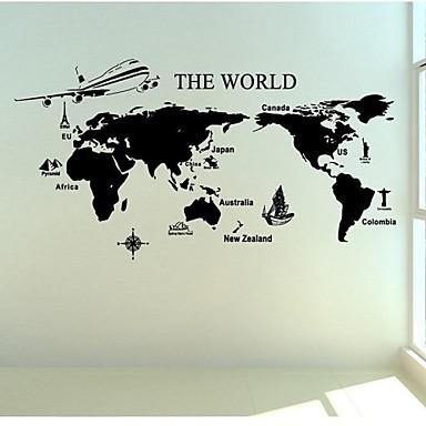 Карта мира из газет своими руками