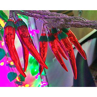 stringa di luce a LED 100 luci peperoncino moderna forma plastica 10m 220v del 2004412 2017 a $22.99
