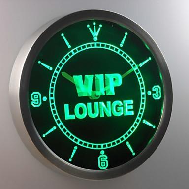 nc0413 vip lounge bar club kneipe bier wein leuchtreklame led wand uhr 1983955 2017. Black Bedroom Furniture Sets. Home Design Ideas