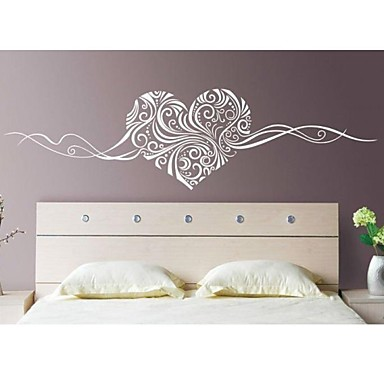 Romance still life fashion florals abstract wall stickers for Stickers oiseaux leroy merlin