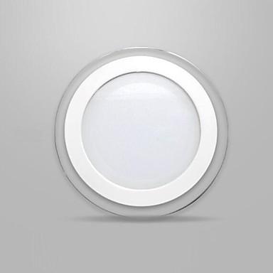 12w runden glasmaske led panel licht smd 5730 k chenlampe mini led deckenleuchten ac85 265v. Black Bedroom Furniture Sets. Home Design Ideas