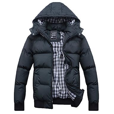 Men's Korean Style Winter Jacket Collar Trend Coat