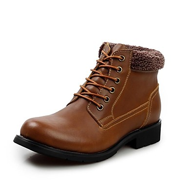 Herenschoenen casual zwart bruin taupe leer laarzen 2106177 2016 - Bruin taupe ...