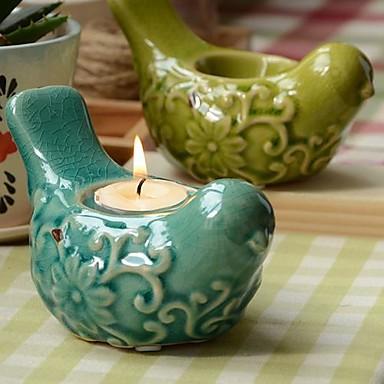 Wedding D 233 Cor Ceramic Bird Candle Holder More Colors