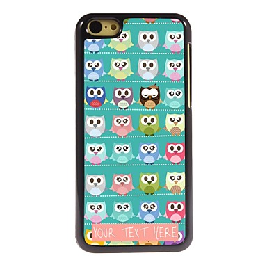 Buy Personalized Phone Case - Lot Owls Design Metal iPhone 5C
