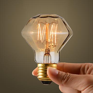 Buy 40W Retro Industry Style Incandescent Bulb, Diamond Shape
