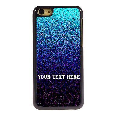 Buy Personalized Phone Case - Flicker Design Metal iPhone 5C
