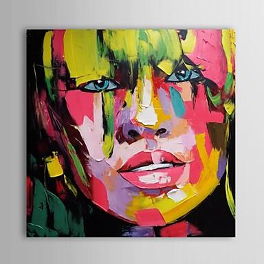 Pittura a olio moderna astratta sexy tele dipinte a mano donna con telaio allungato del 2657791 ...