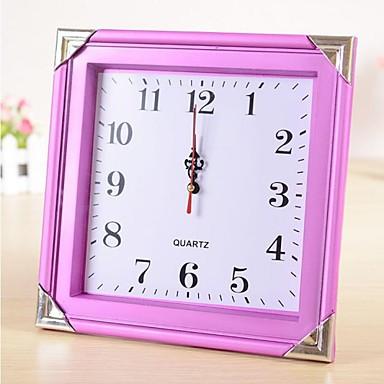 10 2 reloj h moderno estilo pared de pl stico digital - Reloj de pared moderno ...