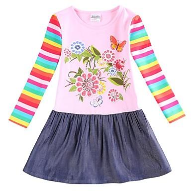 princesse robe robe d 39 hiver de la soir e de f te de printemps fille avec des fleurs robe pour. Black Bedroom Furniture Sets. Home Design Ideas