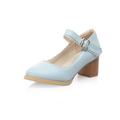 Chaussures bout rond de couleur unie lacets Dans Gris