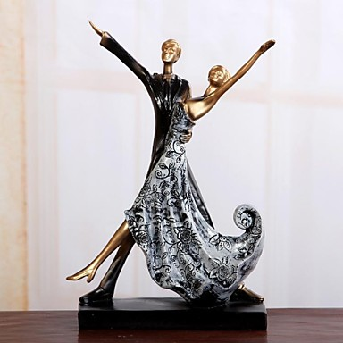 """11.4""""H Hot Dance Lovers Resin Decoration Home Decor"""
