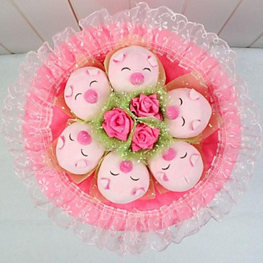Regalo creativo rosado boda aniversario cumplea os for Regalos de aniversario de bodas para amigos