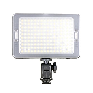 Buy C-160B Portable 160-LED Beads 3200K/5500K 5W 600LM LED Video Light - Black