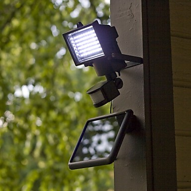 modernos pir sensor de movimiento solar led de pared de