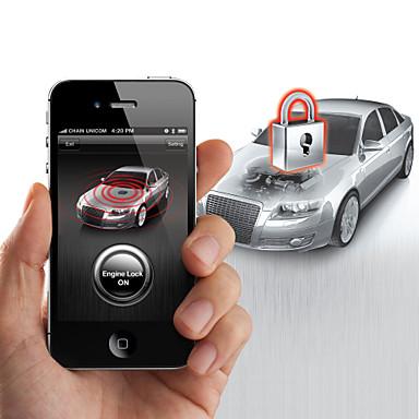 Syst me de s curit de verrouillage steelmate smartphone a881 de moteur de voiture pour iphone - Moteur de verrouillage de porte de voiture ...