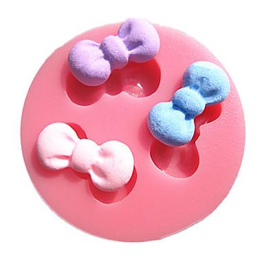 Buy Mini Bowknot Set Fondant Cake Molds Chocolate Mould Kitchen Baking Sugar Decoration Tool