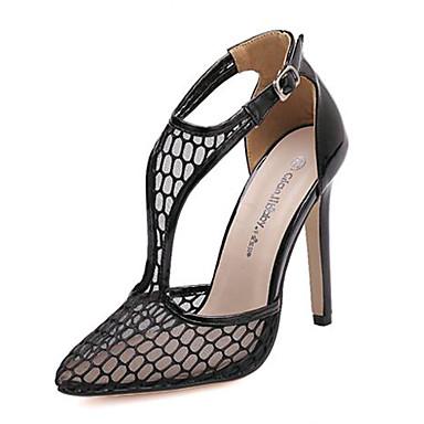 chaussures femme habill noir blanc talon aiguille talons bout pointu sandales. Black Bedroom Furniture Sets. Home Design Ideas
