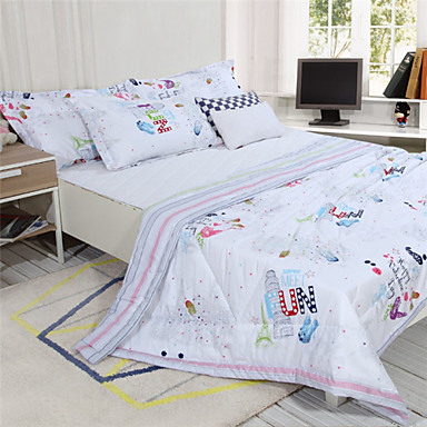 100% Cotton Cartoon Design Summer Covers for Kids 110*150cm Reactive Printing