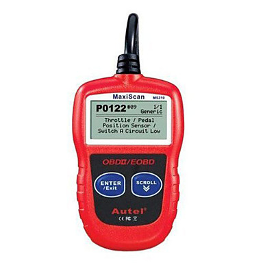 Buy Autel Maxiscan MS310 OBDII OBD 2 Scanner Code Reader Car Engine Fault Diagnostic Tool