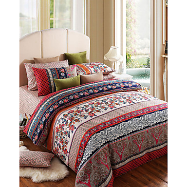 100% Cotton Love in Seattle 4 Pieces Bedding Set