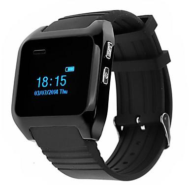tragbare smart watch bluetooth 4 0 freisprechanlage media control nachrichtensteuerung. Black Bedroom Furniture Sets. Home Design Ideas