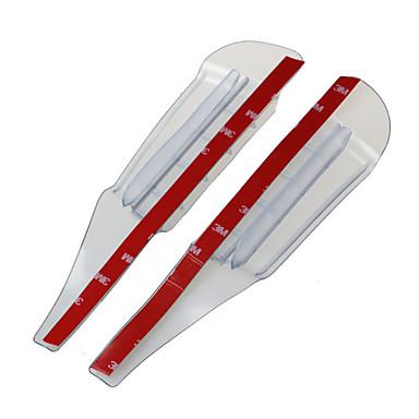 Rundong veiligheid van de achteruitkijkspiegel regen transparante auto wenkbrauw 2 stuks kleur - Kleur selectie ...