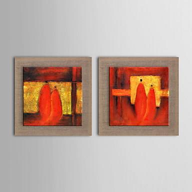 Pintura al leo abstracta moderna pintada a mano de lino for Pintura color lino