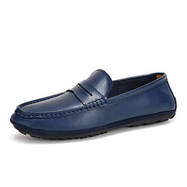 Zapatos de hombre mocasines oficina y trabajo casual for Zapatos de trabajo blancos