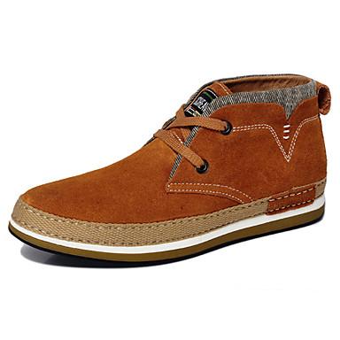 Zapatos de hombre botas oficina y trabajo casual ante - Botas de trabajo ...