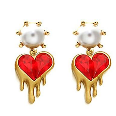 """New Arrival Hot Selling High Quality Fashional Heart Tassel Earrings"""