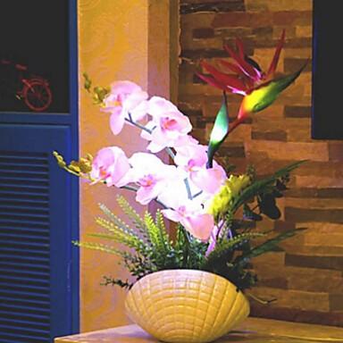 Værner steg ® originalitet håndlavede møl orkidé blomst førte lys ...