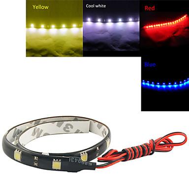 12led blanco rojo azul amarillo tiras flexibles - Tiras luces led ...