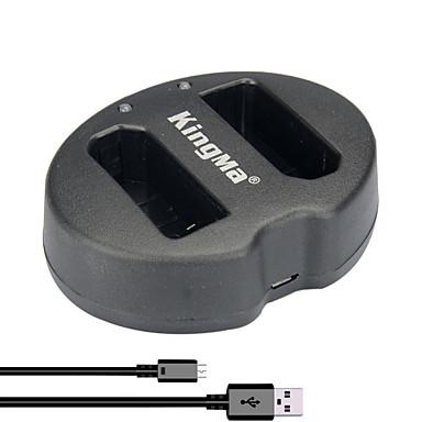 Buy KingMa® Dual Slot USB Battery Charger Nikon EN-EL14 P7000 P7100 P7700 P7800 D5100 D5300 Camera
