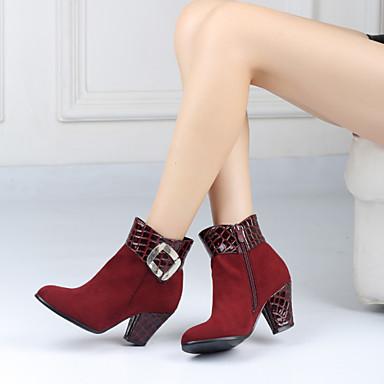 Zapatos de mujer tac n robusto tal n descubierto - Botas de trabajo ...