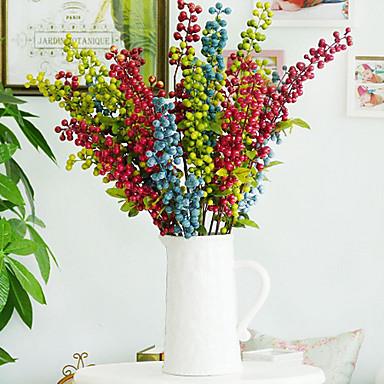Poliestireno poli ster plantas flores artificiales for Plantas ornamentales artificiales