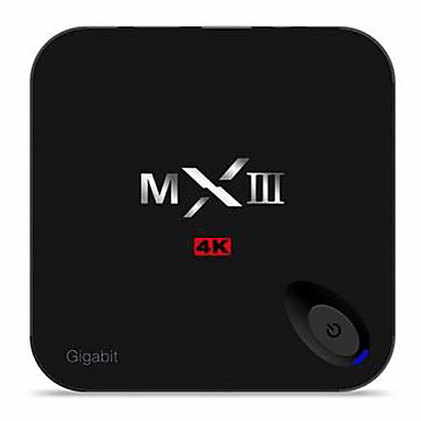 MXⅢ Amlogic S802 Android TV Box,RAM 1GB ROM 8GB Quad Core WiFi 802.11n No