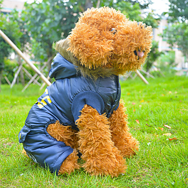 Buy Coats Dogs Blue Winter S / M L XL Cotton